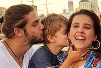 En fotos: el viaje de Horacio Pancheri y Paulina Goto a Argentina para festejar el cumpleaños del pequeño Benicio