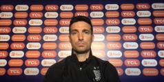 """Scaloni: """"Uruguay es una de las mejores selecciones del mundo"""""""