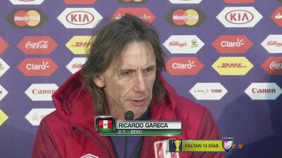"""Ricardo Gareca: """"Nos desbordan las ganas por jugar"""""""