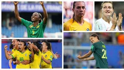 Ellas son las 10 cracks de fase grupal del Mundial de Francia 2019