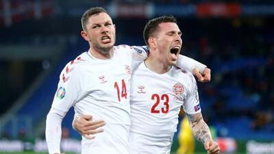 En fotos: épica remontada de Dinamarca en empate de visita a Suiza en Eliminatoria de Eurocopa