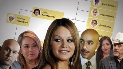 Gráfico: el árbol genealógico de la familia Rivera