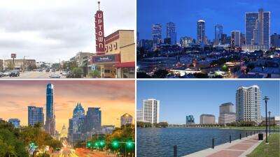 18 ciudades de Texas están entre las más prósperas, innovadoras y activas de la nación, según un ranking