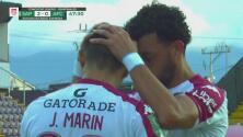 ¡Huele a goleada! Jimmy Marín consigue el 3-0 para el Saprissa
