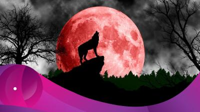 Ya viene la superluna del 'lobo de sangre': ¡prepárate!