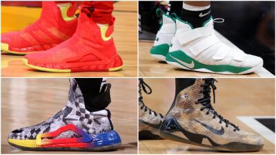 Colores y diseños exclusivos: los mejores tenis que se vieron esta semana en la NBA
