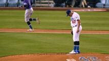 Urías decepciona en regreso de Dodgers sobre Rockies
