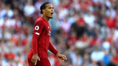 Virgil van Dijk , Jugador del Año en la Champions, confesó que su ídolo es Ronaldinho