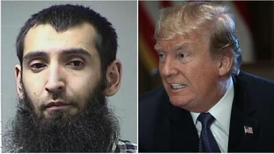 Trump pide la pena de muerte para el sujeto que realizó el múltiple atropello en Nueva York