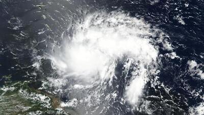 La tormenta Dorian avanza sobre Santa Lucía hacia República Dominicana y el sur de Puerto Rico