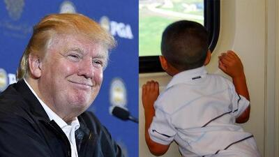 Trump anuncia que quitará la ciudadanía a niños de inmigrantes