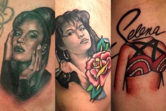 Selena Quintanilla en la piel: mira los tatuajes de sus fans incondicionales