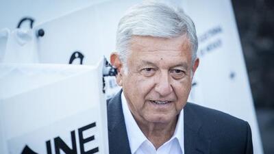 INE indica que AMLO obtuvo entre el 53% y 53.8% de los votos en las presidenciales en México, según datos preliminares