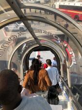 En fotos: Un avión fue puesto en cuarentena en el aeropuerto JFK de Nueva York