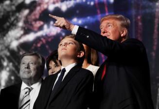Barron Trump, el nuevo niño de la Casa Blanca
