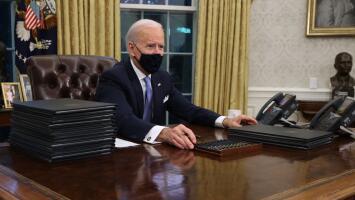 Tras posesionare como presidente, aumenta la expectativa frente a las promesas que hizo Biden durante la campaña