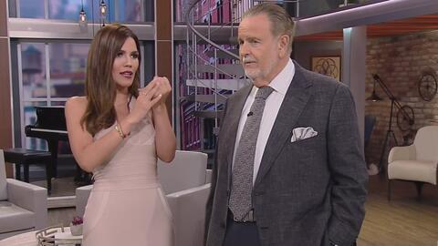 Karina Banda quiere un anillo de compromiso grande y brillante (esto le dijo El Gordo a Carlos Ponce)