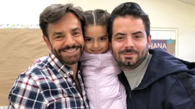 ¡El gran parecido entre Eugenio Derbez, Aitana y José Eduardo!