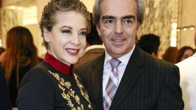 Lorenzo Lazo honra la memoria de Edith González en su aniversario de bodas