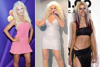 ¡Wow! Christina Aguilera perdió muchas libras