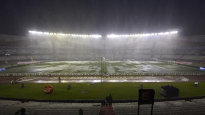 Suspenden el juego entre Argentina y Brasil por fuertes lluvias