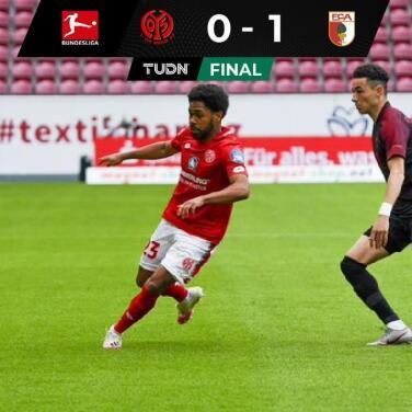 Augsburgo mete en problemas de descenso al Mainz al vencerlo por 0-1