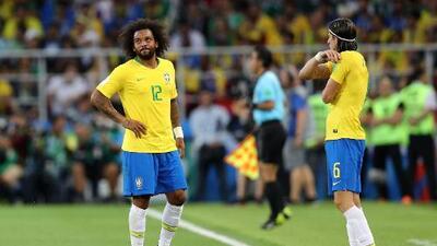 Costa, Marcelo y Fred, entrenaron por separado