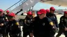 Más de 12 policías de San Antonio serán sancionados por usar gorras de la campaña de Trump