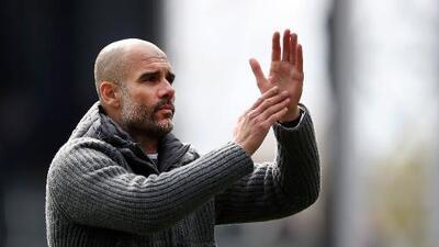 Pep Guardiola, entrenador del año en la Premier League