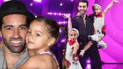 La hija de Toni Costa no tuvo suficiente con la coreografía de TeletónUSA y él ya la ve en Mira Quién Baila