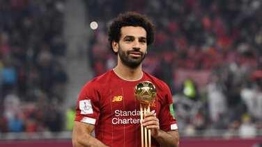 Mohamed Salah es elegido balón de oro del Mundial de Clubes