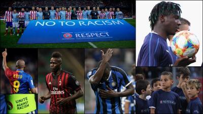 En fotos: Lukaku se suma a las historias deplorables del racismo en el futbol