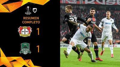 Bayer Leverkusen 1-1 Krasnodar - GOLES Y RESUMEN – VUELTA DIECISEISAVOS DE FINAL – UEFA Europa League