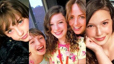 Estas fotos de las hijas de Andrea Legarreta te harán derretir de ternura