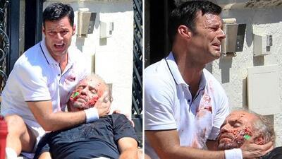El ex de Versace critica la forma en que Ricky Martin recreó la muerte del diseñador italiano