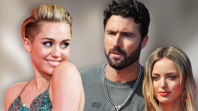Exesposo de Kaitlynn Carter la defiende tras las críticas que ha recibido por besar a Miley Cyrus
