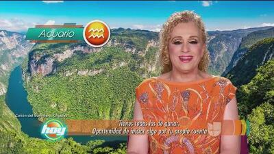 Mizada Acuario 17 de julio de 2017