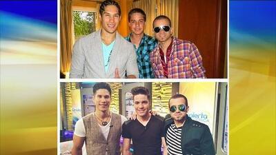 William con Chino y Nacho antes y ahora