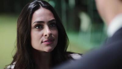 Adela se puso furiosa al saber que Miguel investigó a su nuevo amor