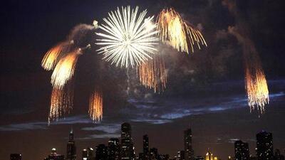 Aquí te decimos dónde puedes ver los fuegos artificiales en Chicago este 4 de Julio