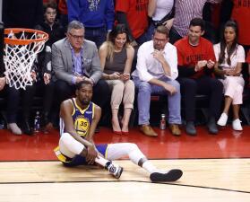 Tras las críticas a los aficionados de Toronto por festejar la lesión de Kevin Durant, esto pasó