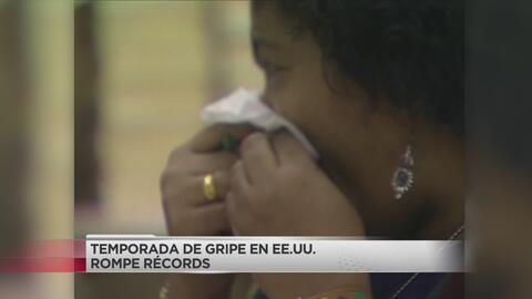 Temporada de gripe rompe récords en Estados Unidos