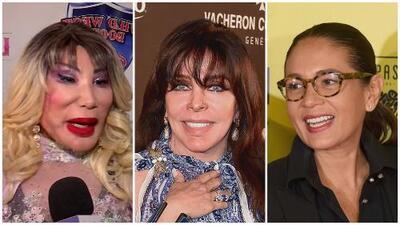 """""""Hay que probar de todo"""": Lyn May habla sobre la supuesta boda entre Verónica Castro y Yolanda Andrade"""