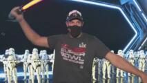 Sueño cumplido: jugador de los Buccaneers realiza su anhelo de visitar Disney tras ganar el Super Bowl
