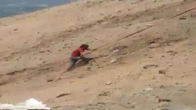 Saltó por la ventana y se salvó del fatal accidente en la 'Curva del Diablo' en Perú