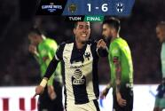 Resumen | Rayados le pasa por encima a Bravos al golearlos 1-6