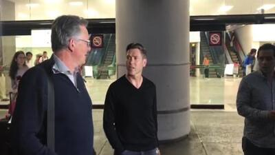 Representante y padre de Luuk de Jong llegaron a México para analizar transferencia al América