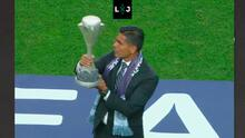 ¿Oswaldo le echó la sal a México? Tocó la copa antes de la Final