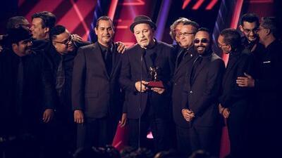 Sorprendido y agradecido, Rubén Blades aceptó el Latin GRAMMY a Álbum del Año