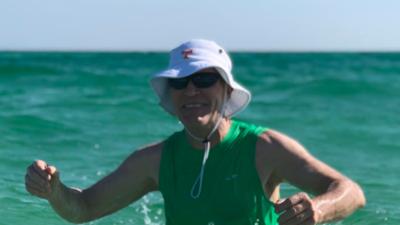 """Dos víctimas de la bacteria """"come carne"""" se bañaron en la misma  playa de Florida pero en meses diferentes"""